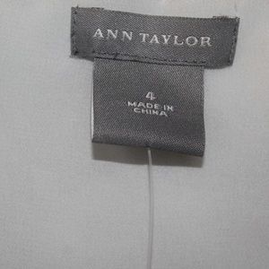 Ann Taylor Tops - NWT Ann Taylor Silk Crop top with Halter ties